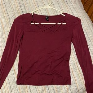Long sleeve shirt. Only worn once